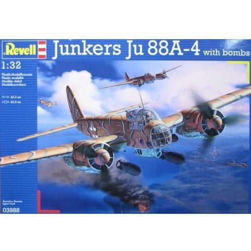 Oferta REVELL Junkers Ju88 A-4 with Bombs z kat.: ogrzewanie