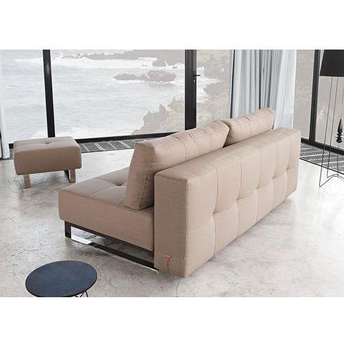 Istyle Supremax Deluxe Excess Sofa Rozkładana Tkanina Szara (4250268302088)