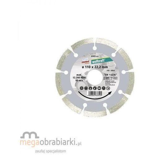Oferta WOLFCRAFT Tarcza tnąca diamentowa Standard-Universal 125 x 22,2 mm RATY 0,5% NA CAŁY ASORTYMENT DZWOŃ 77 415 31 82