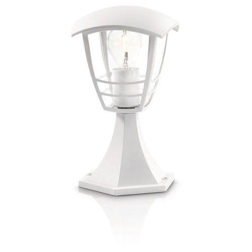 Lampa ogrodowa CREEK niska Biała 1x 60W PHILIPS 15382/31/16, Philips