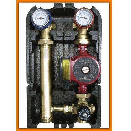 Towar z kategorii: pompy cyrkulacyjne - WEBERMAN Grupa mieszająca GMPT60 termostatyczna FERRO