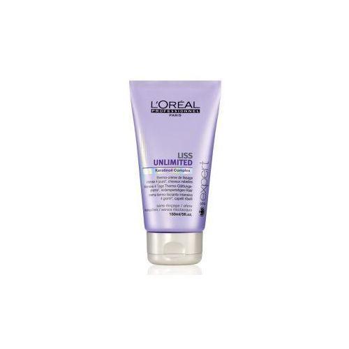 Produkt z kategorii- pozostałe kosmetyki do włosów - Loreal Liss Unlimited, wygładzający krem termiczny, 150 ml