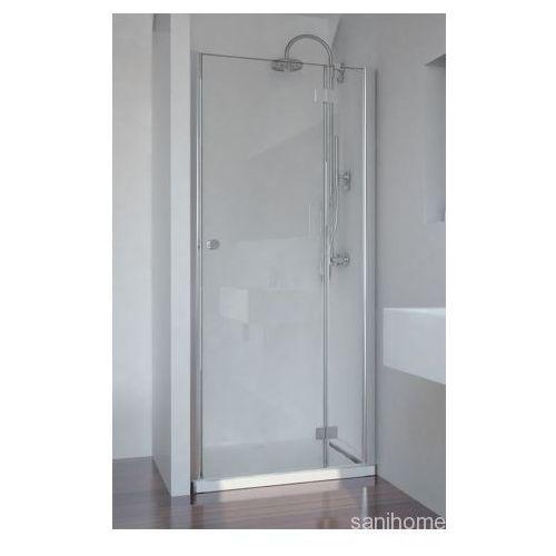 SMARTFLEX drzwi prysznicowe do wnęki prawe 80x195cm D1281R (drzwi prysznicowe)