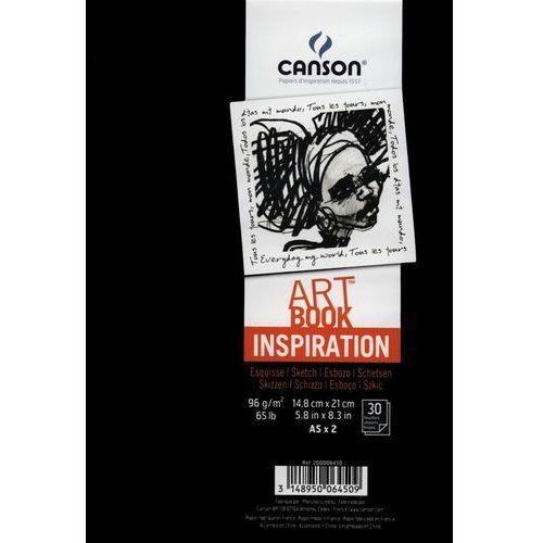 Szkicownik A5 Canson Artbook Inspiration 2x30 kartek czarny - oferta [259ddeae7fc3758d]