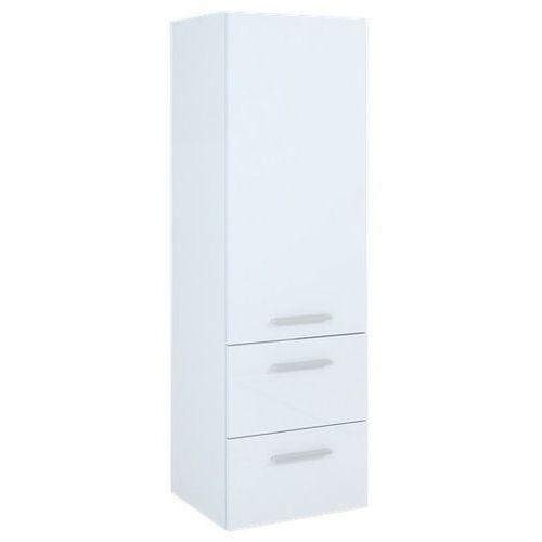 Produkt z kategorii- regały łazienkowe - Elita Kwadro słupek łazienkowy 40x36,2x128,4 cm biały 162328