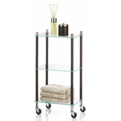 Regał łazienkowy na kółkach Kela Avalon - produkt z kategorii- regały łazienkowe