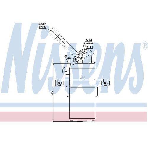 Towar z kategorii: osuszacze powietrza - Osuszacz, klimatyzacja NISSENS 95213