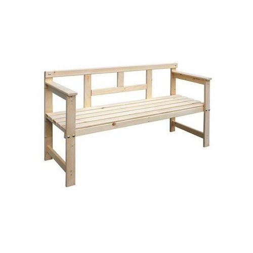 Happy Green Drewniana ławka 120 x 45 x 80 cm - produkt dostępny w Mall.pl