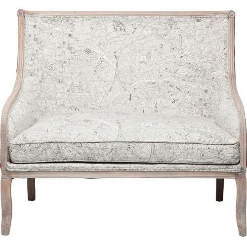 Bound for Paris Sofa Tkanina Drewno - 78733, Kare Design