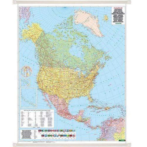 Ameryka Północna. Mapa ścienna polityczna 1:8 mln wyd. , produkt marki Freytag&Berndt