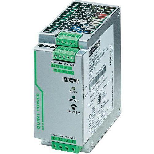 Artykuł Zasilacz na szynę Phoenix Contact QUINT-PS/3AC/24DC/10, 24V, 10 A z kategorii transformatory