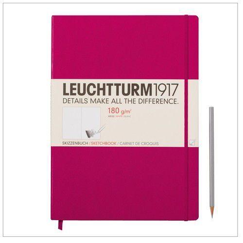 Szkicownik Master Leuchtturm1917 gładki malinowy 345002 - oferta [251def0271e275df]