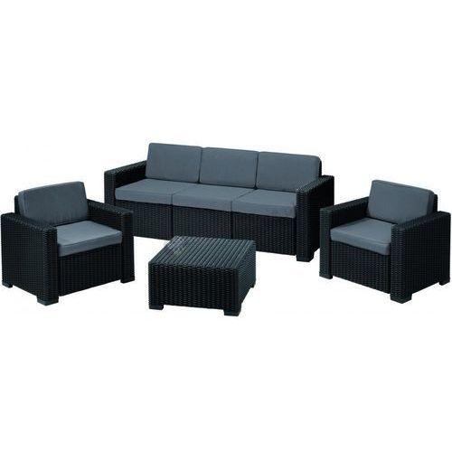 Duży Komplet mebli wypoczynkowych California 3 Seater, produkt marki Allibert