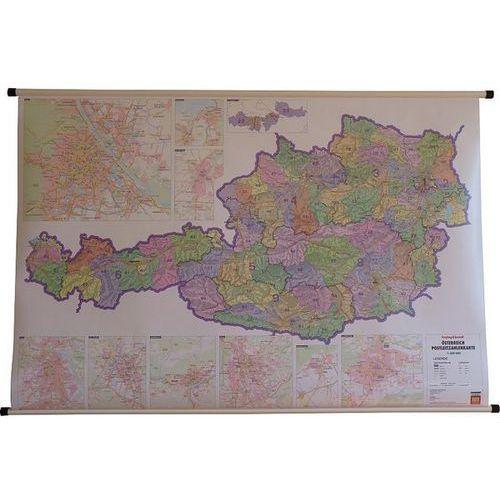 Austria. Mapa ścienna kodów pocztowych 1:500 tys. wyd. , produkt marki Freytag&Berndt