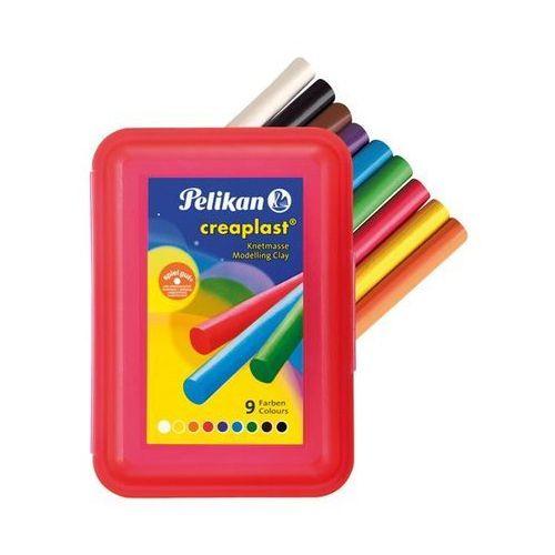 Oferta Plastelina Creaplast Pelikan - 9 kolorów - opakowanie czerwone [05314b7c47655411]