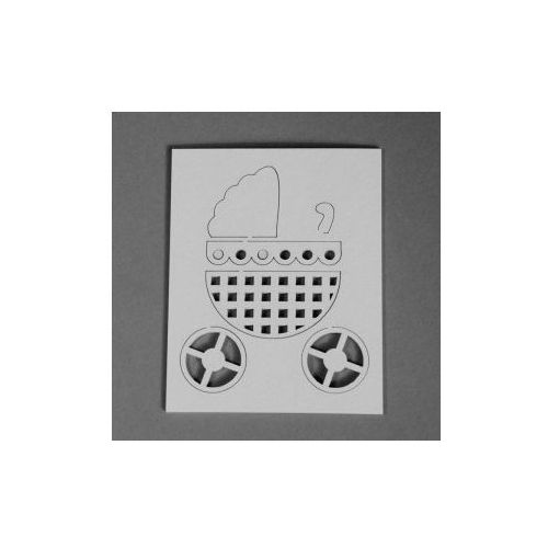 Oferta Kreatywne tekturki Craftfun WÓZEK 3D
