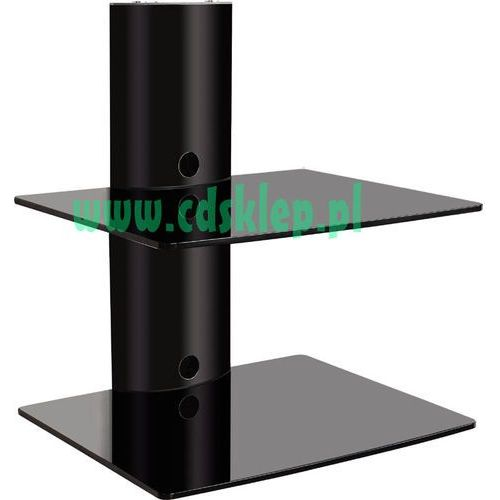 Inny OEM Aluminiowa półka ścienna pod DVD/Tuner do 20KG P-50 z kat. półki rtv