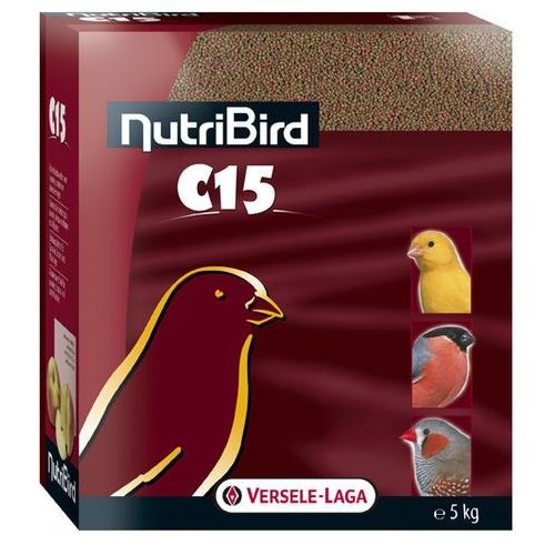 VERSELE LAGA - NUTRIBIRD C15 - GRANULAT DLA KANARKÓW 5KG, NutriBird