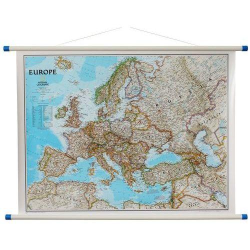 Europa. Mapa ścienna polityczna Classic 1:8,4 mln wyd, , produkt marki National Geographic