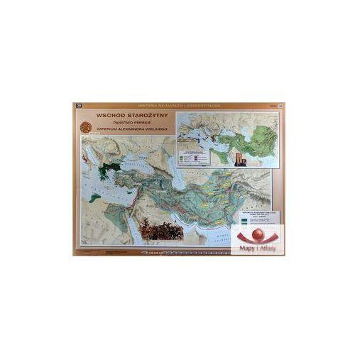 Wschód Starożytny, Państwo Perskie, Imperium Aleksandra Wielkiego / Świat hellenistyczny. Mapa ścienna, produkt marki Nowa Era