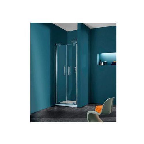 Huppe Refresh pure Drzwi prysznicowe wahadłowe do wnęki - 70/194 cm chrom eloxal Szkło Karo 9P0901092311 (d