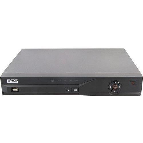 BCS-DVR0401QE-II 4 kanałowy rejestrator HYBRYDOWY cyfrowy H.264