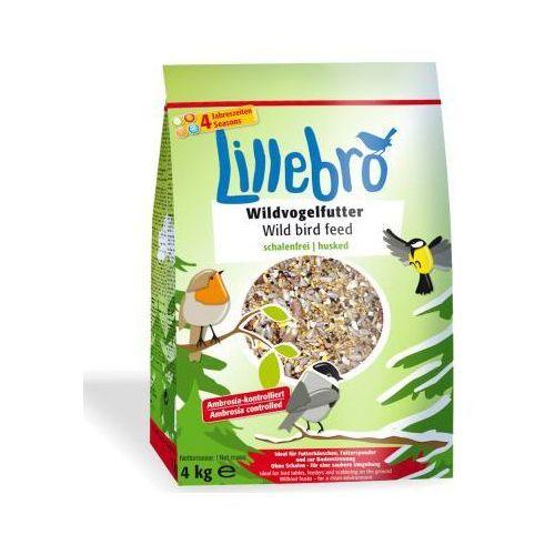 Karma dla dzikich ptaków niezawierająca łusek - 3 x 4 kg, Lillebro