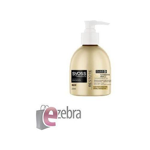 Produkt z kategorii- pozostałe kosmetyki do włosów - SCHWARZKOPF SYOSS SUPREME RESTORE FLUID 3W1 DO WŁOSÓW ZNISZCZONYCH