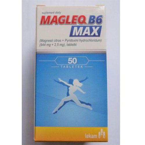 Magleq B6 MAX 50 tabl.