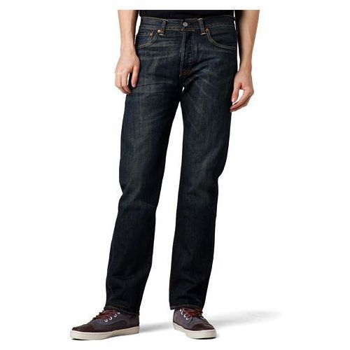Levi's® 501® Jeans Dusty Black - produkt z kategorii- spodnie męskie