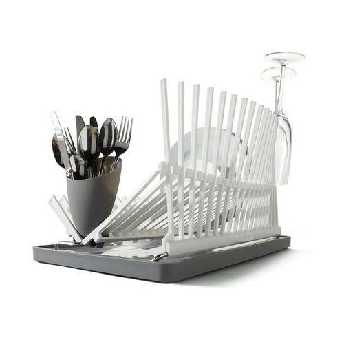 Produkt z kategorii- suszarki do naczyń - High&Dry Ociekacz na talerze biały Black+Blum BB-HD001
