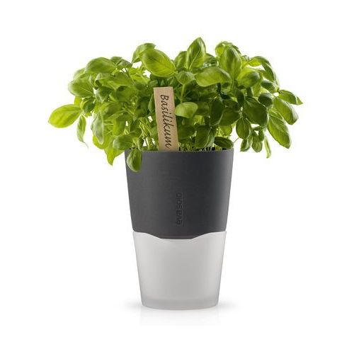 Doniczka na zioła 13 cm Eva Solo ciemnoszara, produkt marki Produkty marki Eva Solo