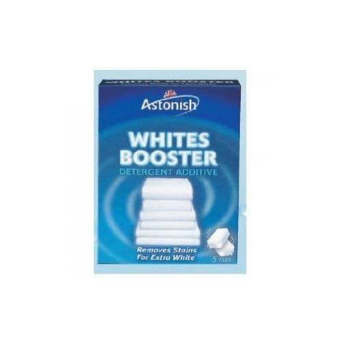 Whites Booste środek wybielający tkaniny 5szt, Astonish z FH Proszek