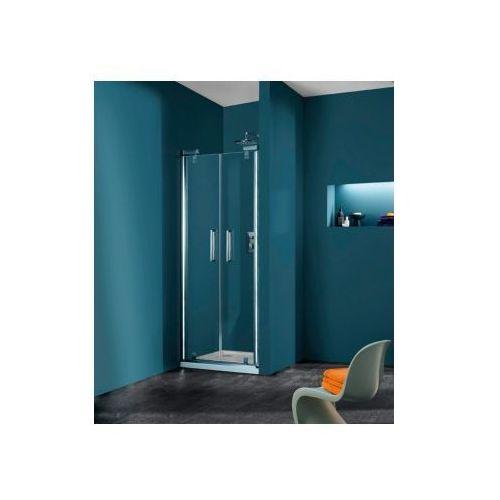 HUPPE REFRESH pure 4-kąt drzwi wahadłowe do wnęki 9P0901 (drzwi prysznicowe)