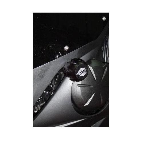 Puig y Kawasaki ER6F; 2009-2011 (czarne) | TRANSPORT KURIEREM GRATIS z kat. crash pady motocyklowe