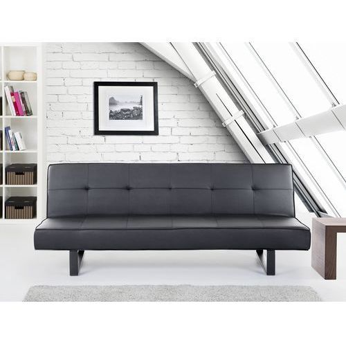 Luksusowa sofa kanapa DERBY czarna, Beliani