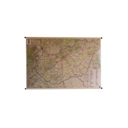 Węgry mapa ścienna samochodowa 1:400 000  & Berndt, produkt marki Freytag