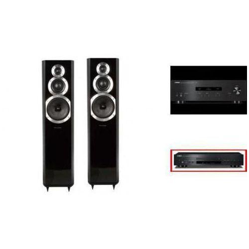 YAMAHA A-S201 + CD-S300 + WHARFEDALE 10.5 - wieża, zestaw hifi - zmontuj tanio swój zestaw na stronie
