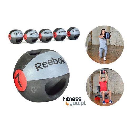 PIŁKA LEKARSKA Z UCHWYTAMI REEBOK 8KG RSB-10128 :: POLECANY SPRZEDAWCA :: TEL 801000505 :: www.aerobik.fitness, produkt marki Reebok Professional