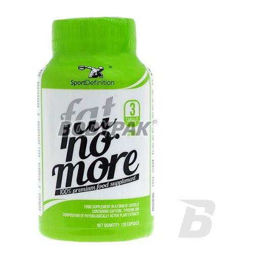 fat no more - 120 kaps. wyprodukowany przez Sportdefinition