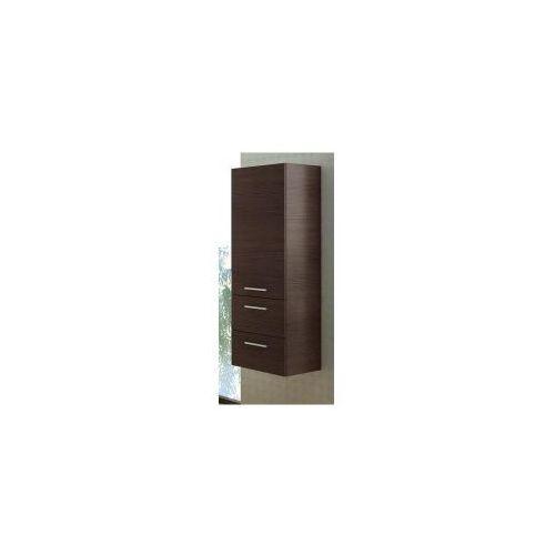 Szafka Elita Kwadro 40 słupek trufla 164481 - produkt z kategorii- regały łazienkowe