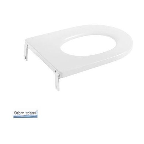 Produkt z kategorii- pozostałe artykuły hydrauliczne - Deska WC twarda do miski WC dla dzieci Happening Roca