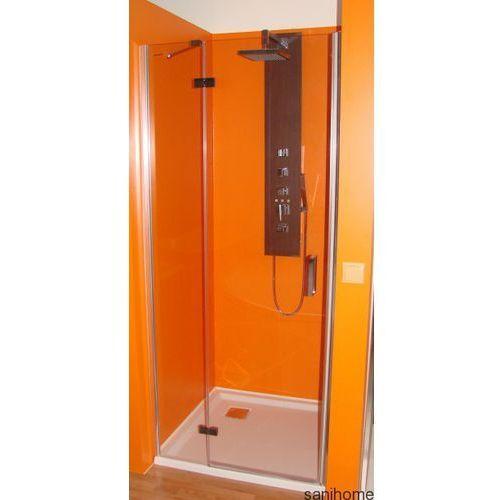 Drzwi prysznicowe z 1 ścianką 90cm prawe BN2815R (drzwi prysznicowe)