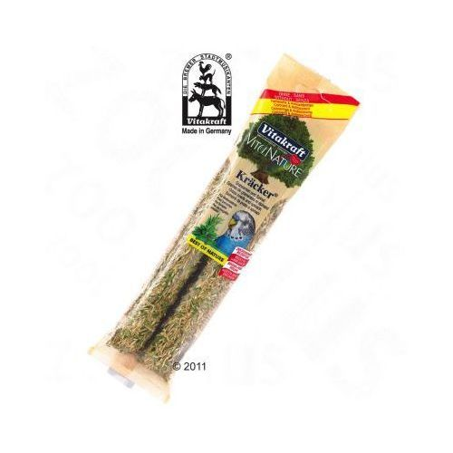Vita Nature Krakersy - 2 szt. nasiona traw i szpinak