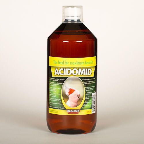 ACIDOMID E - 1000ml - NIEZBĘDNIK HODOWCY PTAKÓW