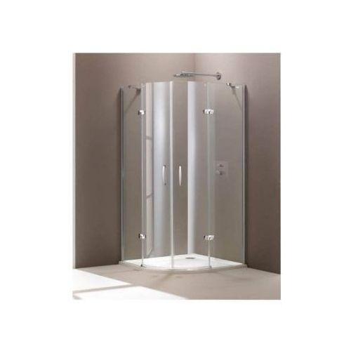 HUPPE AURA ELEGANCE - Drzwi skrzydłowe ze stałymi segmentami, 2-częściowe 400801 (drzwi prysznicowe)