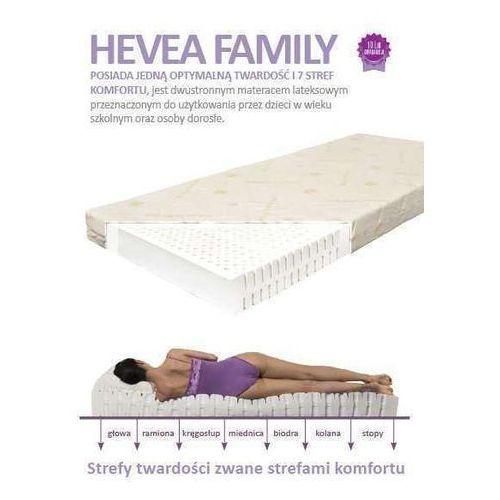 Produkt MATERAC LATEKSOWY FAMILY 80x200cm HEVEA