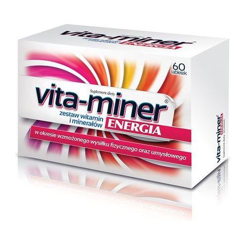 Vita-miner Energia tabl. 60 tabl., postać leku: tabletki