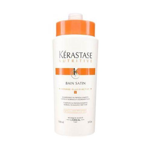 Kerastase NUTRITIVE BAIN SATIN NO. 1 Kąpiel odżywcza nr 1 do włosów normalnych lub lekko suchych (1000 ml) - produkt z kategorii- odżywki do włosów