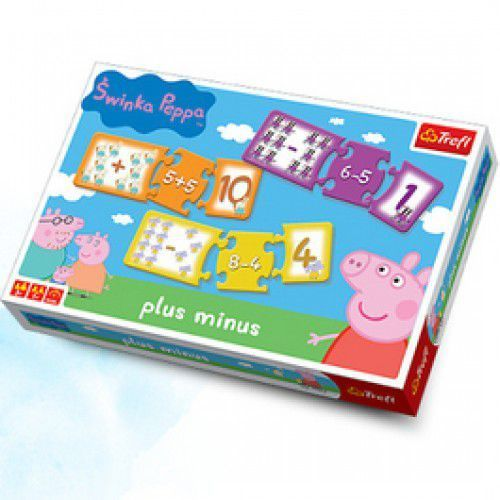 Oferta Plus Minus Świnka Peppa Gra - Dostawa zamówienia do jednej ze 170 księgarni Matras za DARMO [15a8e20fb172831a]